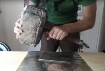 Real-life Thor's hammer!