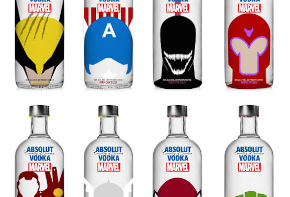 If you're into Superheroes and Vodka, this is for you