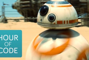 Hour of Code invades Star Wars Universe
