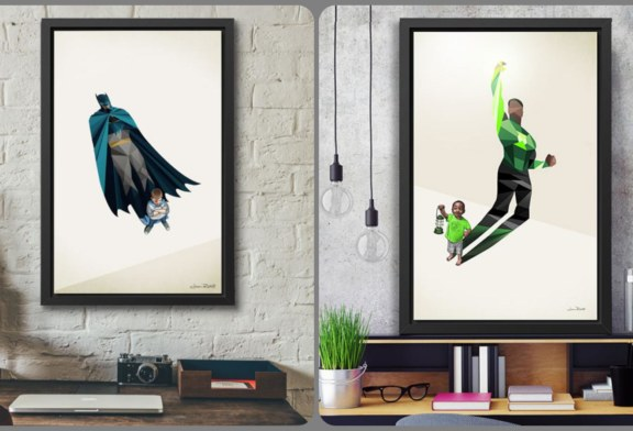 Explore The Power of a Child's Imagination with Super Shadows Artwork by Jason Ratliff