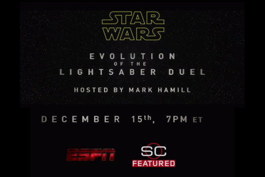 'Star Wars' Evolution of the Lightsaber Special on ESPN to be hosted by Mark Hamill