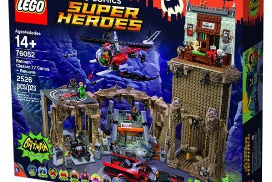 TAKE MY MONEY! LEGO will be releasing the classic TV series Batcave!