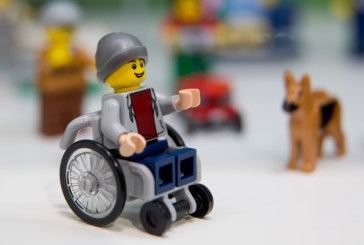 LEGO unveiled its first disabled minifigure
