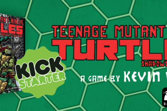 Crowdfunding | Teenage Mutant Ninja Turtles Board Game