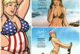 Ladies of Archer debuts on Sports Illustrated Swinsuit
