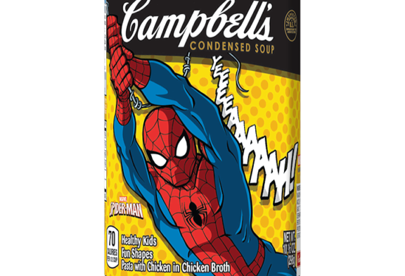 Marvel's Spider-Man teams up with Campbell's Soup Company