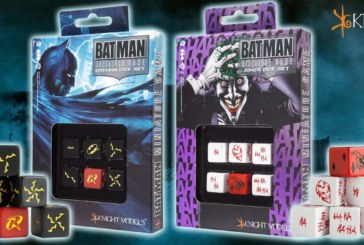 Batman Miniature Game Dice Sets Available On Pre-Order