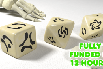 Crowdfunding   Bone Origins – Polyhedral Dice