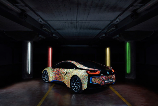 BMW i8 Futurism Edition: The most futuristic looking car BMW ever made.