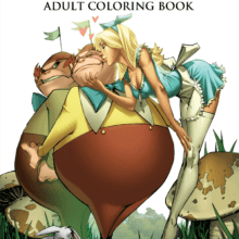 Join Zenescope coloring contest for the upcoming Alice in Wonderland Adult Coloring Book!