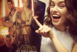 Daisy Ridley Is A Human Being Like Us