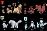 Game of Thrones / Pokémon mashup by artist Kaleb Raleigh