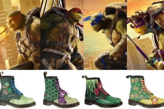 Teenage Mutant Ninja Turtles Take Over Dr Marten's