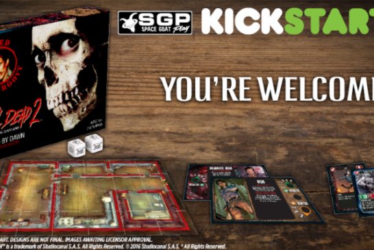 Crowdfunding | Evil Dead II Board Game Kickstarter Campaign is LIVE!