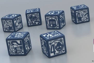 Doctor Who Deluxe Dice Set Available to Pre-Order