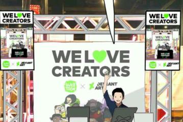 Reading Geek | LINE Webtoon Comic-Con Tour Recap
