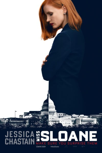 """Poster for the movie """"Miss Sloane"""""""