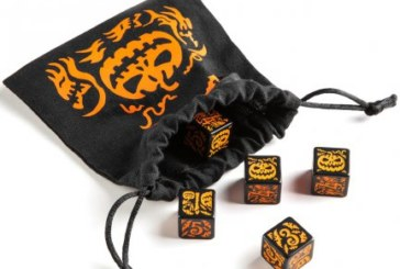Get your Tabletop Adventures Ready For Halloween With This Special Dice Set