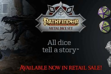 Metal Pathfinder Dice Set Now Available!