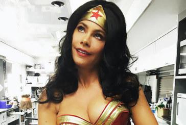 Sofia Vergara Stuns As Wonder Woman