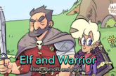 Elf & Warrior by Andy Stuart Debuts on LINE Webtoon