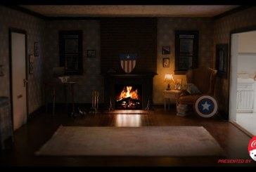 Play Iron Man or Captain America Fireside Videos To Warm You Up This Winter.