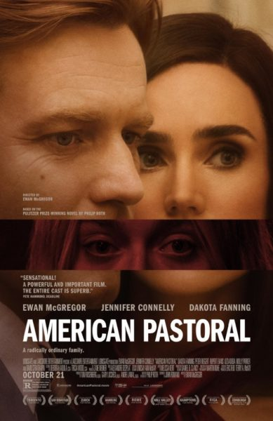 "Poster for the movie ""American Pastoral"""