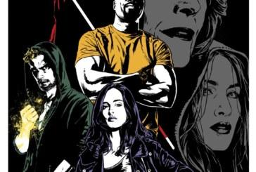 "The Defenders Gets A ""Wrap"" Poster Courtesy Of Joe Quesada"