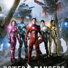 "Poster for the movie ""Power Rangers"""