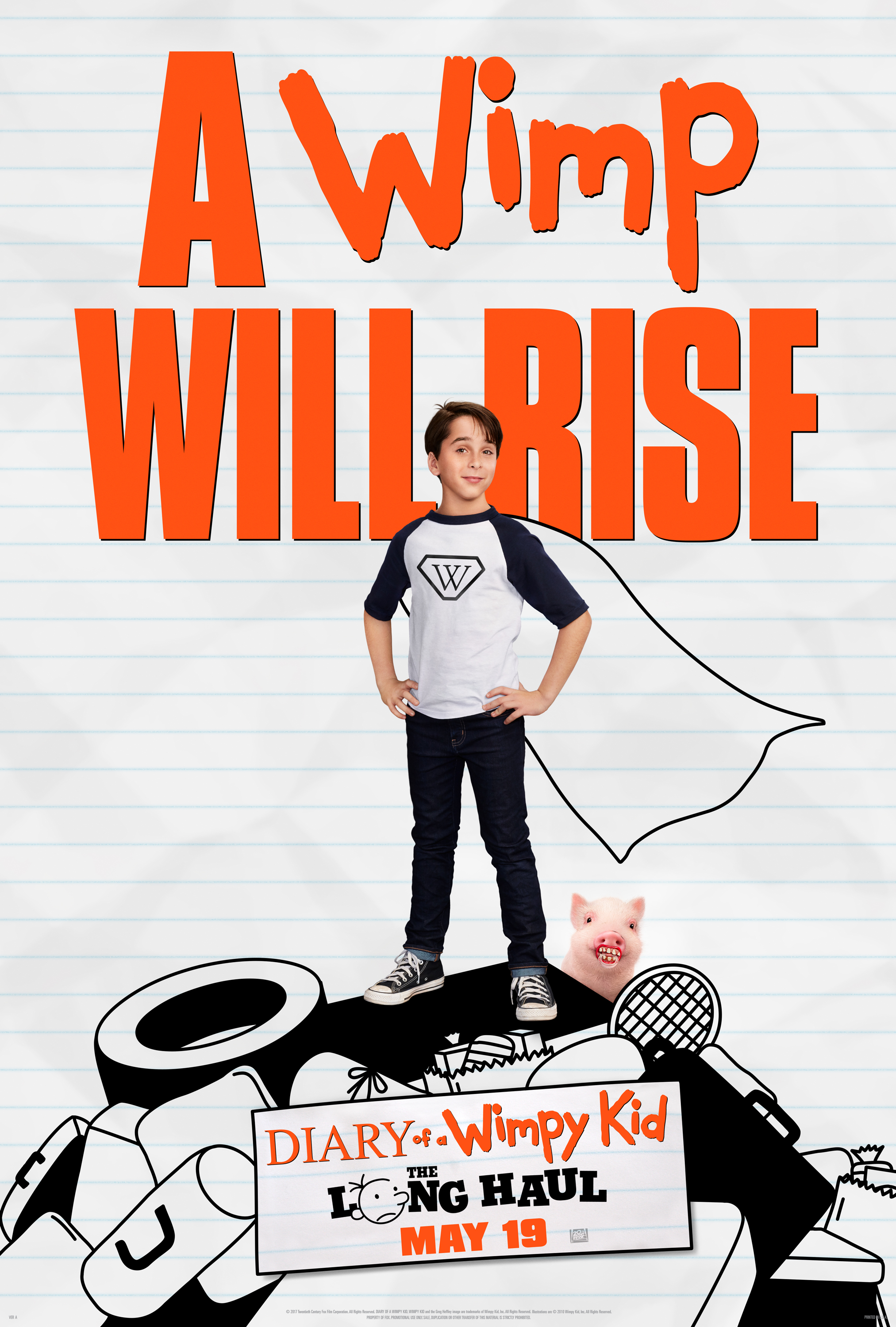 Diary Of A Wimpy Kid New Movie