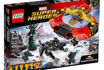 New Look At Some Of LEGO's Thor Sets