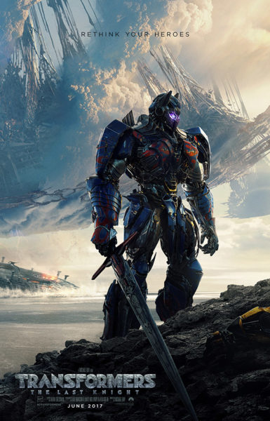 Transformers: The Last Knight poster (Paramount Pictures)