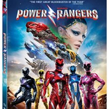 Saban's Power Rangers Blu-Ray cover (Lionsgate Home Entertainment)