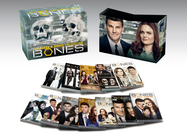 Bones: The Complete Series Seasons 1-12 cover (20th Century Fox Home Entertainment)