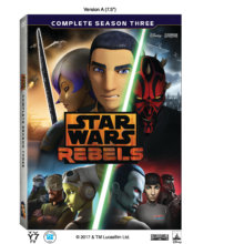 Star Wars: Rebels Complete Season Three (Lucasfilm/Disney)