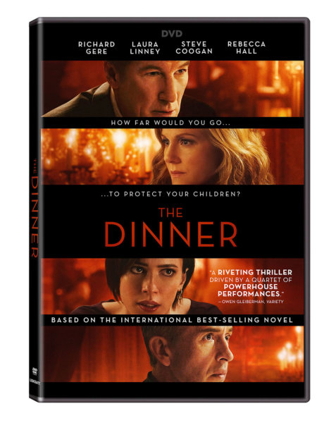 The Dinner DVD cover (Lionsgate Home Entertainment)