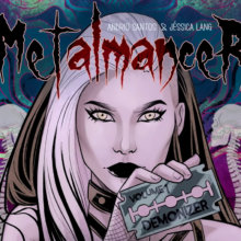 Reading Geek   Metalmancer: A story about heavy metal and witchcraft!