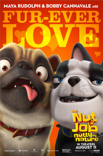 The Nut Job 2: Nutty By Nature character poster (Open Road Films)