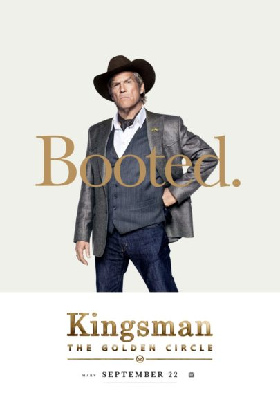 Kingsman: The Golden Circle character poster (20th Century Fox)