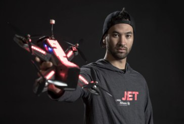 "Drone Racing League world champion ""Jet"" on pursuit of defend his title!"