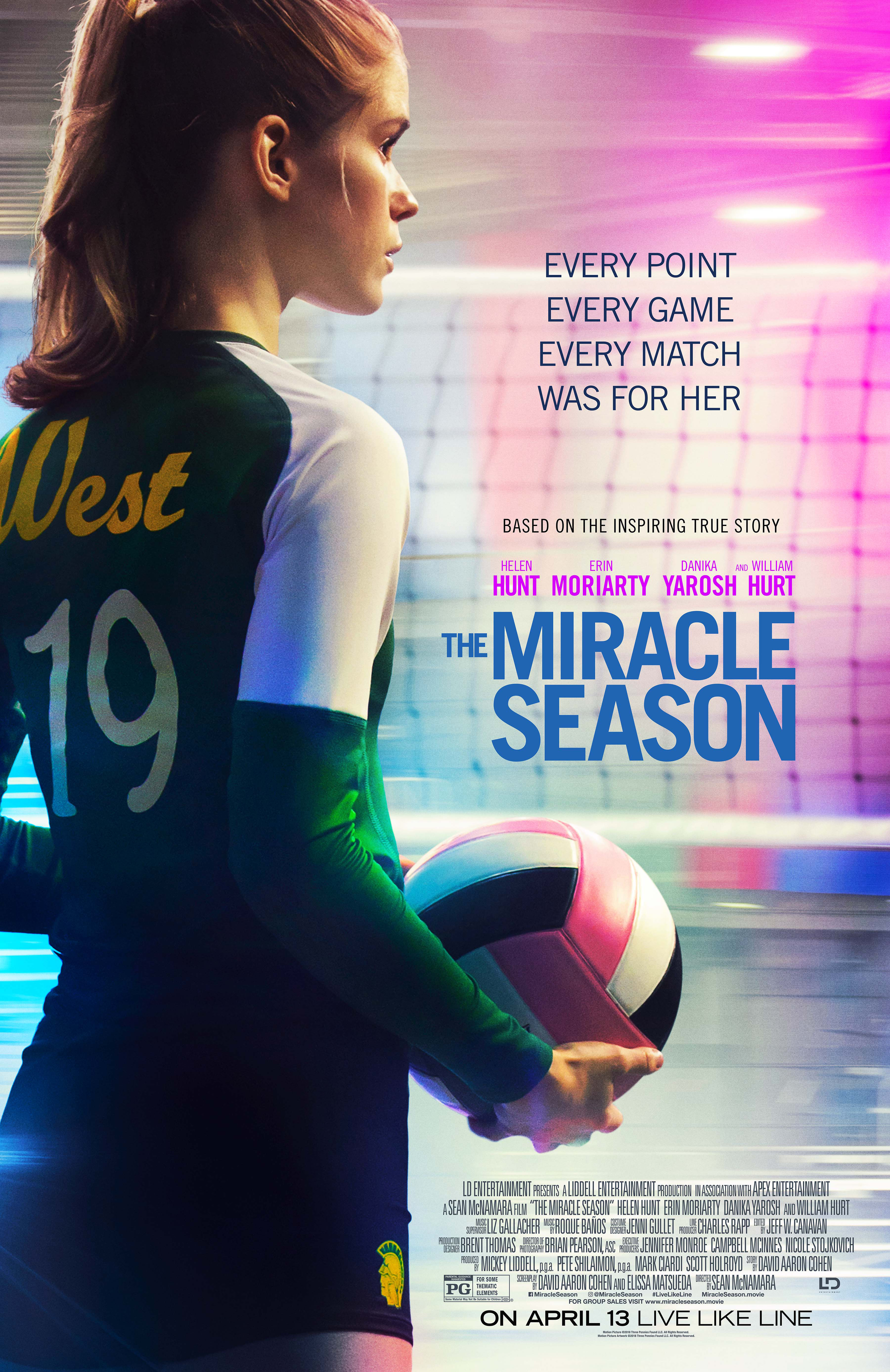 new stills and poster from the miracle season nothing