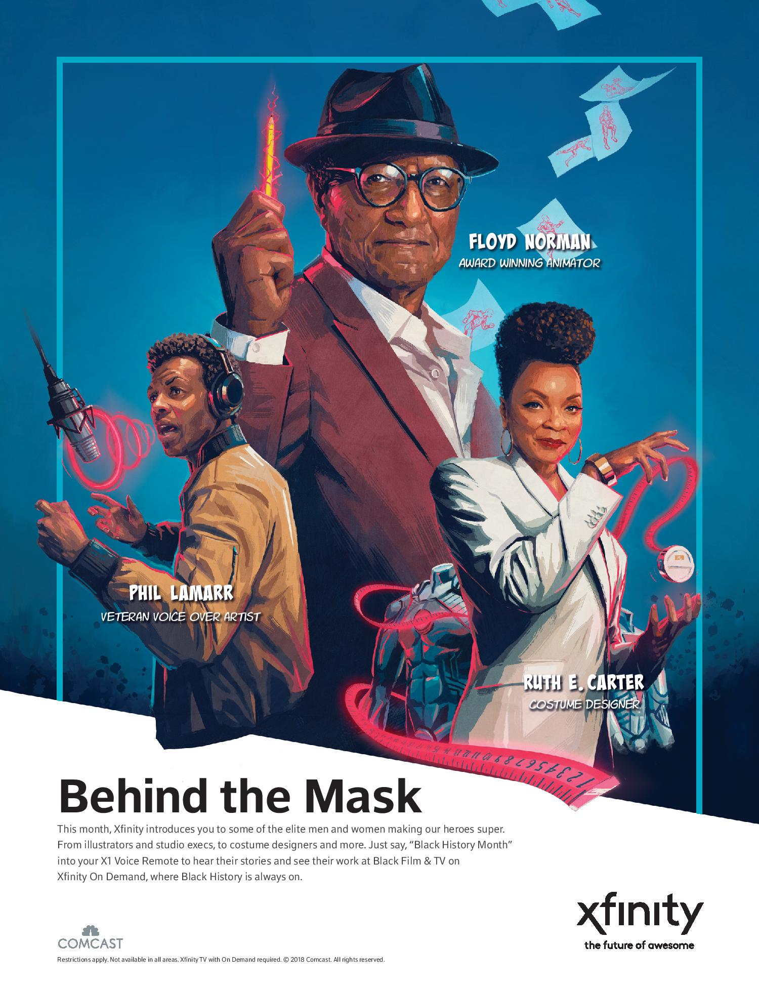 Comcast Launching Groundbreakers: Superheroes Behind the Mask