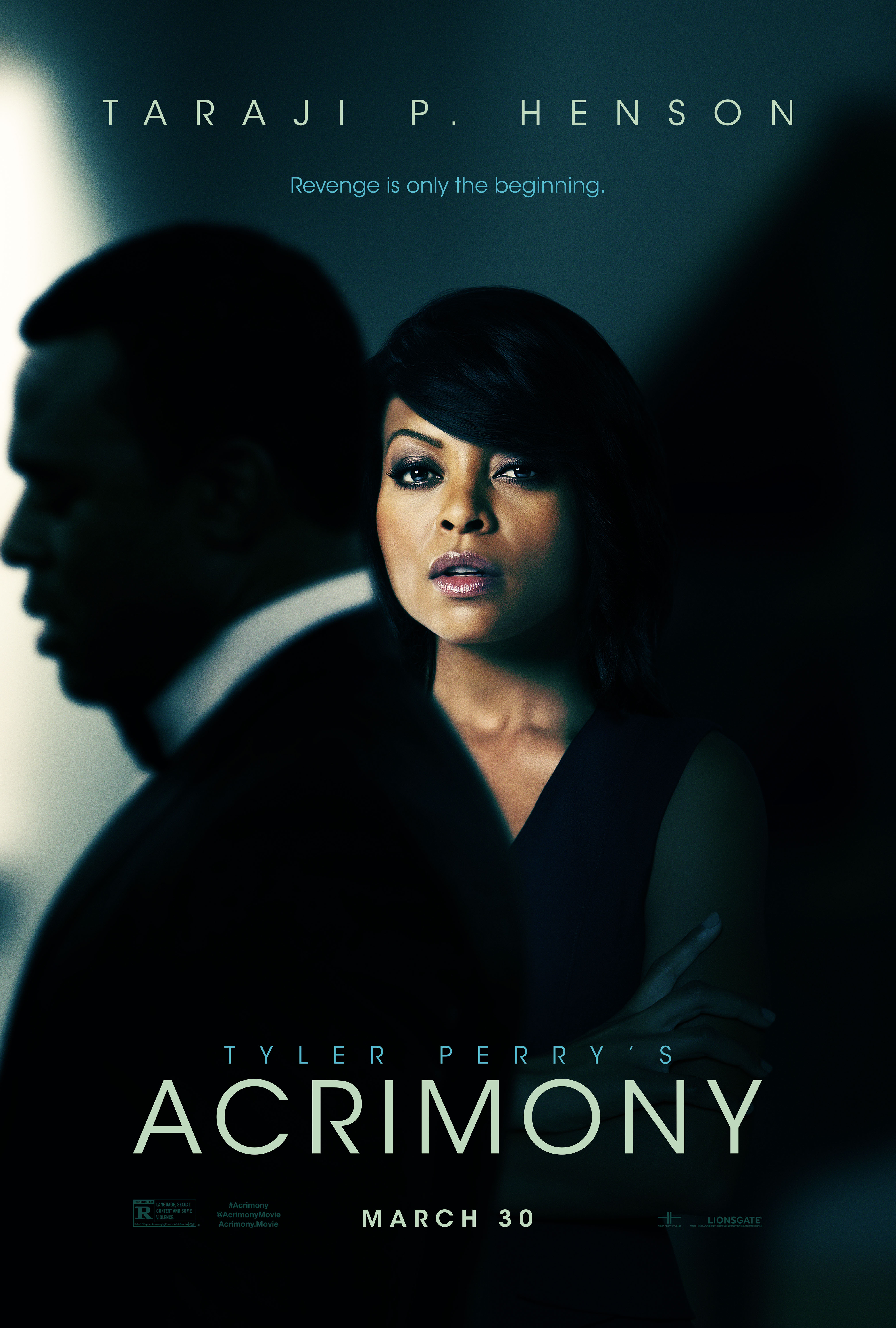 Acrimony Poster Lionsgate