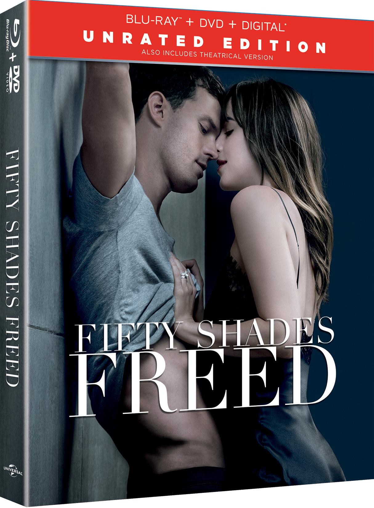 ผลการค้นหารูปภาพสำหรับ Fifty Shades Freed (2018) bluray