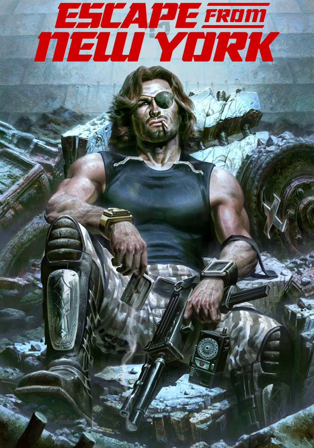 Escape From New York Poster.Escape From New York Nothing But Geek