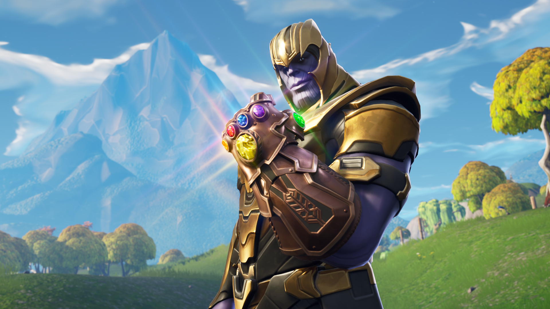 Fortnite V4 1 Update Lets You Play As Thanos Patch Notes Revealed