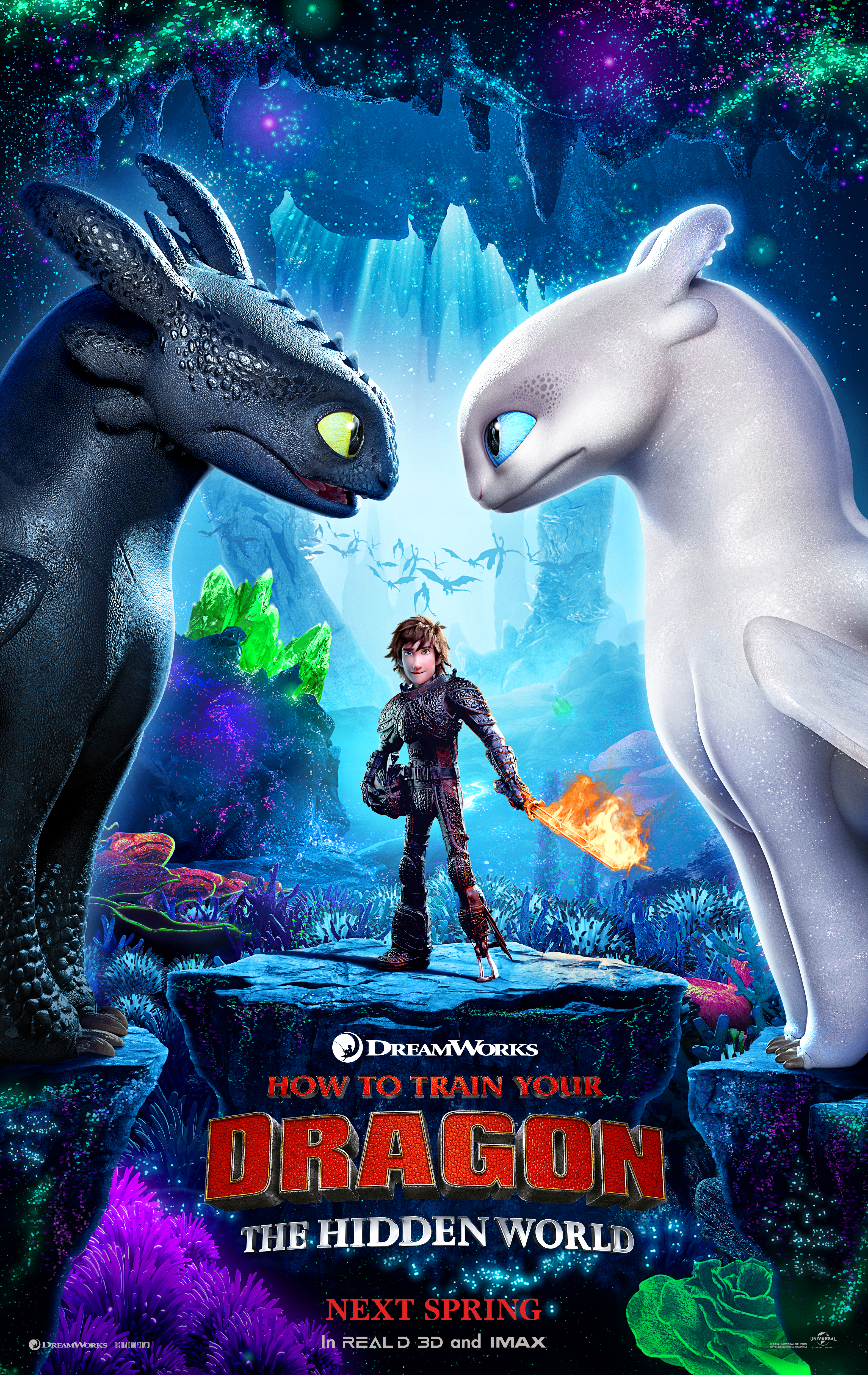 How to train your dragon the hidden world trailer nothing but geek how to train your dragon the hidden world poster universal picturesdreamworks animation movies news trailers ccuart Image collections