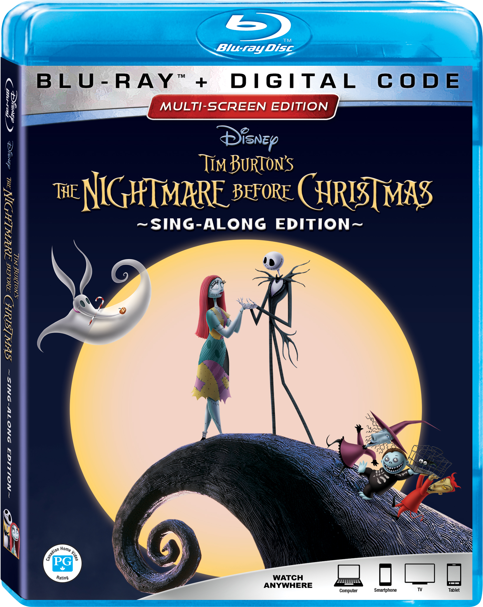 The Nightmare Before Christmas 25th Anniversary Edition | Nothing ...