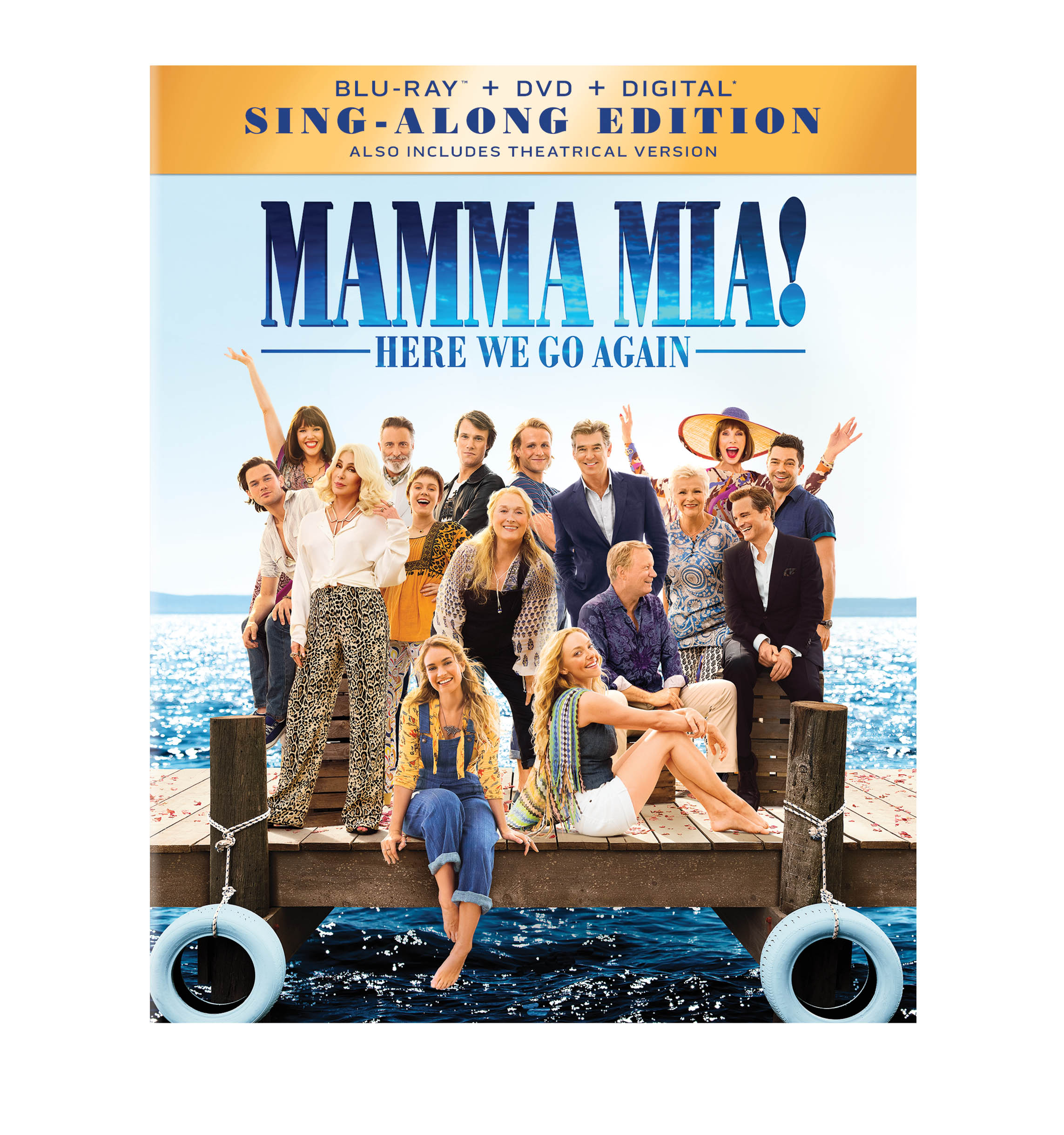 Mamma Mia Here We Go Again Bonus Features Nothing But Geek