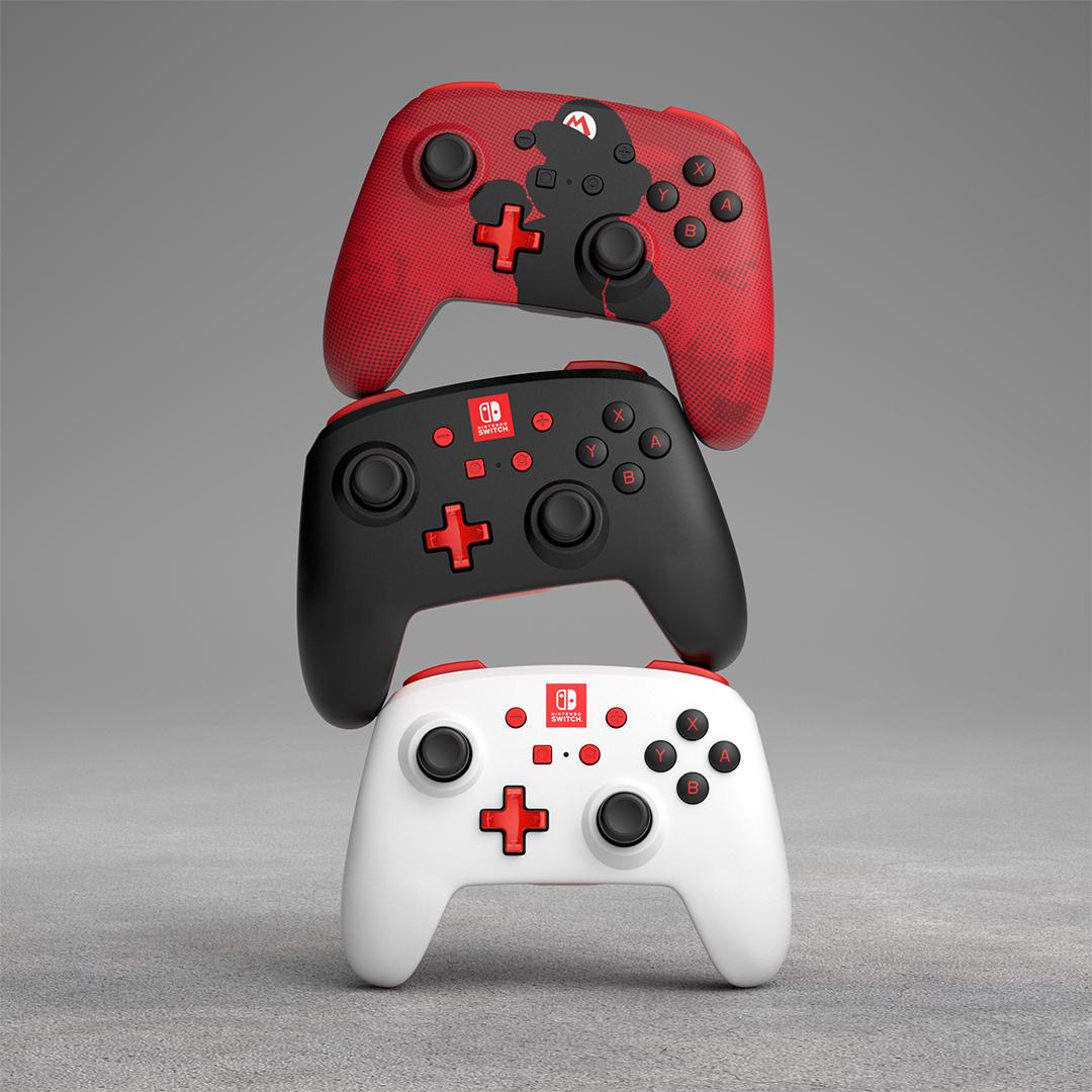 New Nintendo Switch Enhanced Wireless Controllers By PowerA